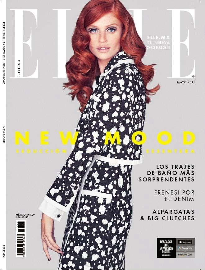 Model @ Cintia Dicker for Elle Mexico, May 2015