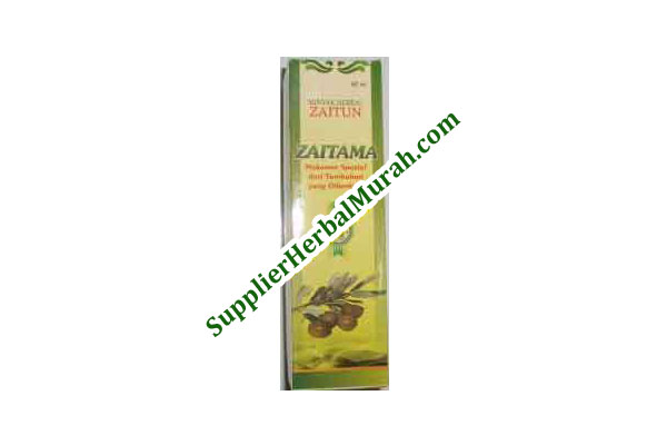Minyak Herbal Zaitun ZAITAMA 60 ml