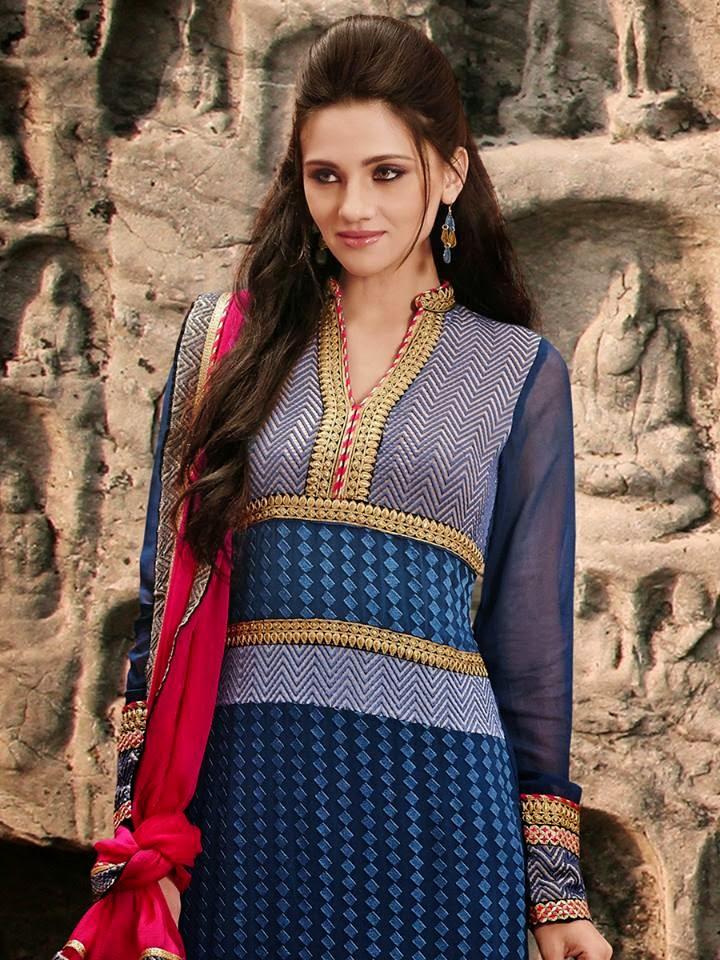 Blue Shalwar Kameez
