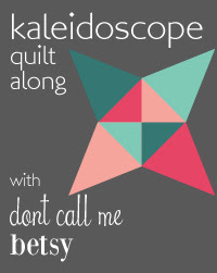 Kaleidoscope Quilt Along