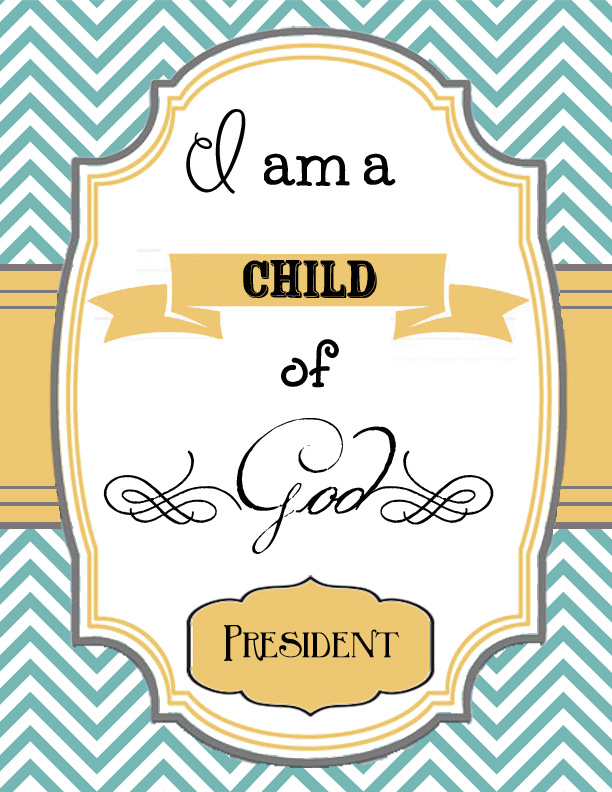 little of this, a little of that: 2013 Primary Binder Printables