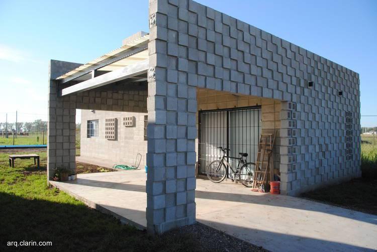 Bloques de cemento c mo construir con este material Casas modernas precio construccion