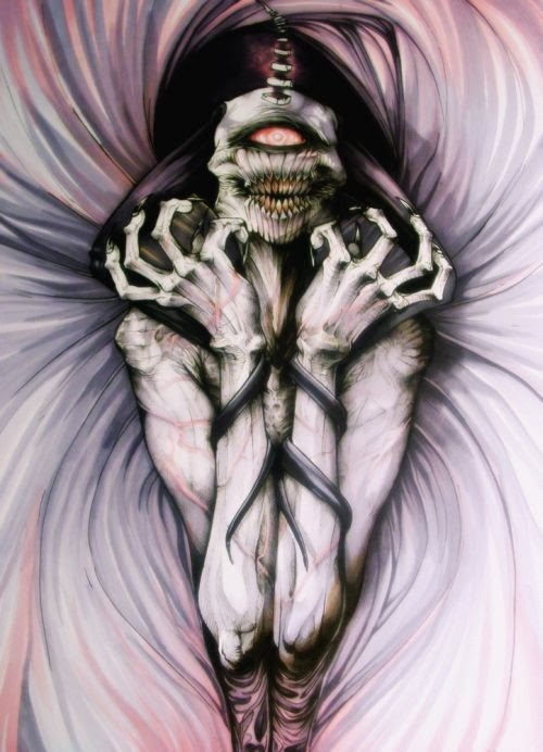 Damien Mammoliti damie-m deviantart ilustrações sombrias fantasia terror