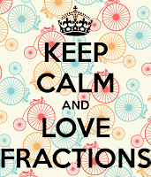 Keep Calm and Love Fractions
