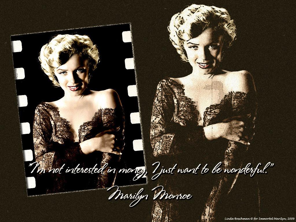 Wallpapers Photo Art Marilyn Monroe Wallpapers Desktops