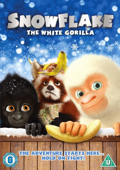 Snowflake the White Gorilla DVD, albino animal, family film competition