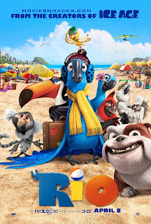 Watch Rio 2011 BRRip Hollywood Movie Online | Rio 2011 Hollywood Movie Poster