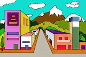 Perspectiva c frontal - Ciudad 1