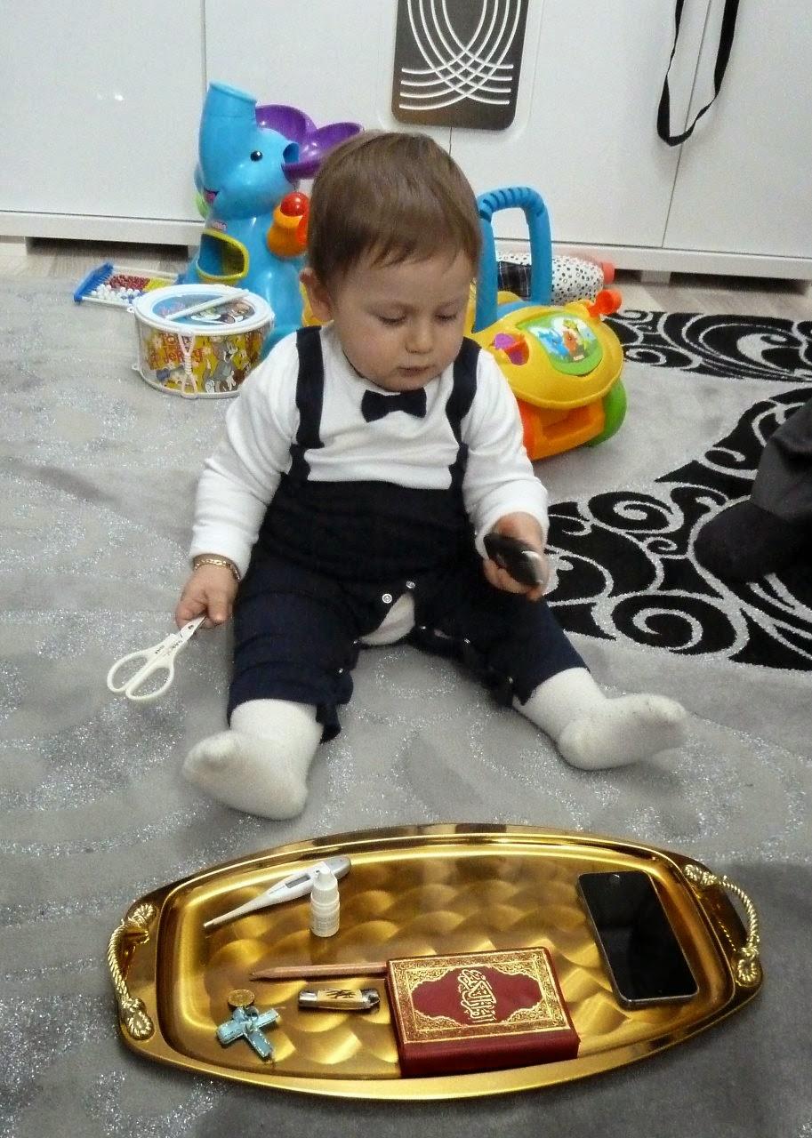 seçim yapan bebek