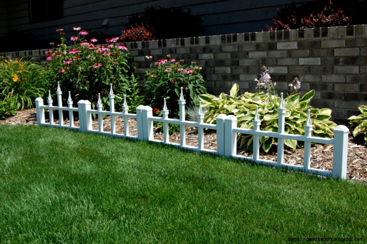 Decorative Garden Fence And Decorative