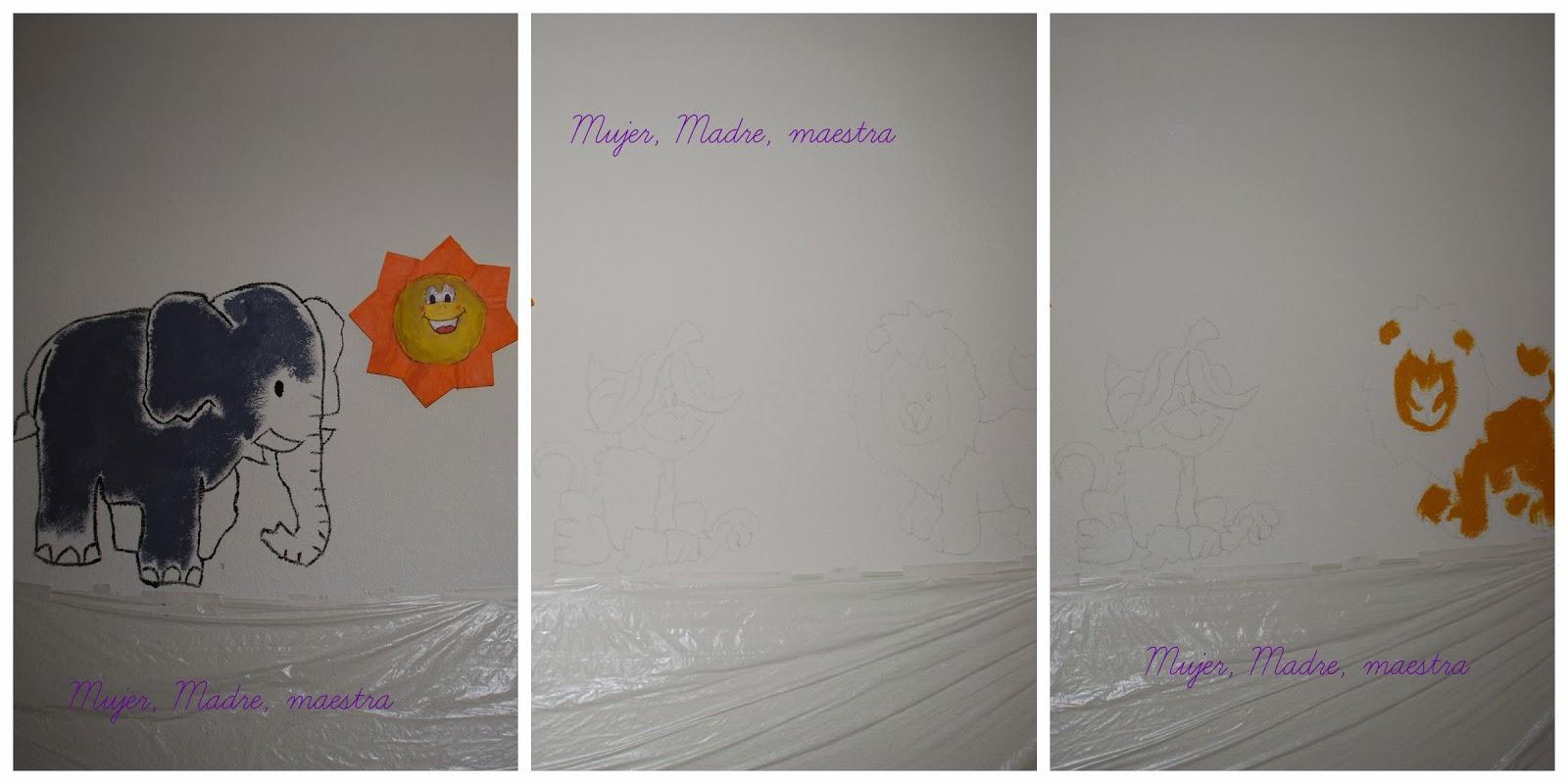 madre mujer maestra c mo pintar un mural en la pared o