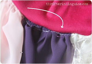 Finishing Skirt Fairy