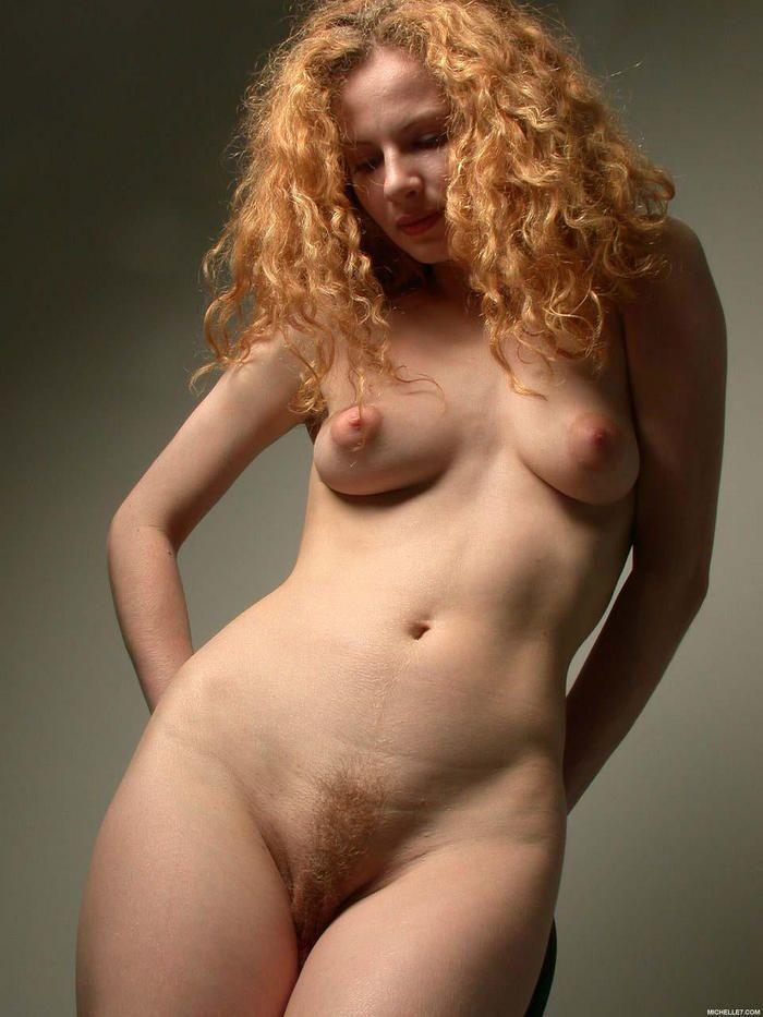 Red heads with puffy nipples