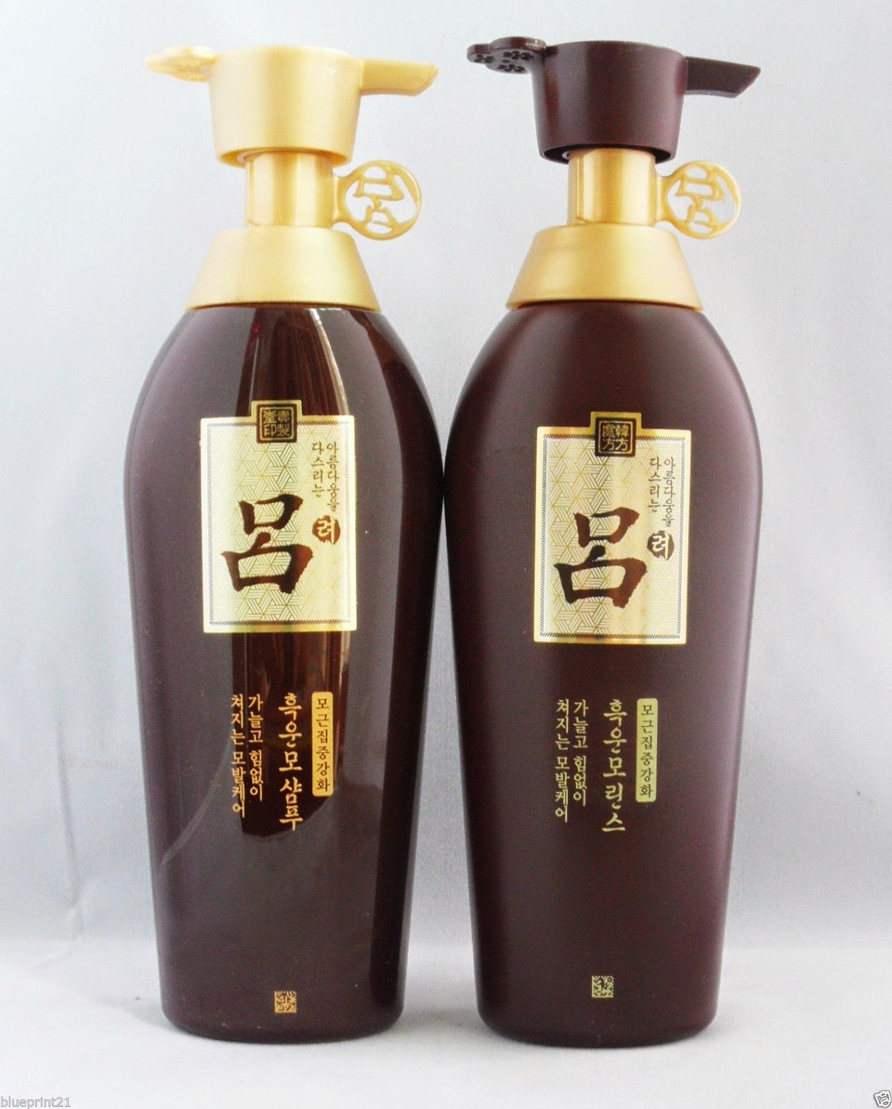 Amore Pacific Ryoe Hukunmo Shampoo 400ml + Conditioner 400ml Set Free Shipping