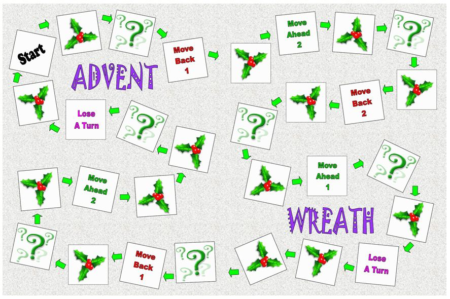 Advent Saints Craft
