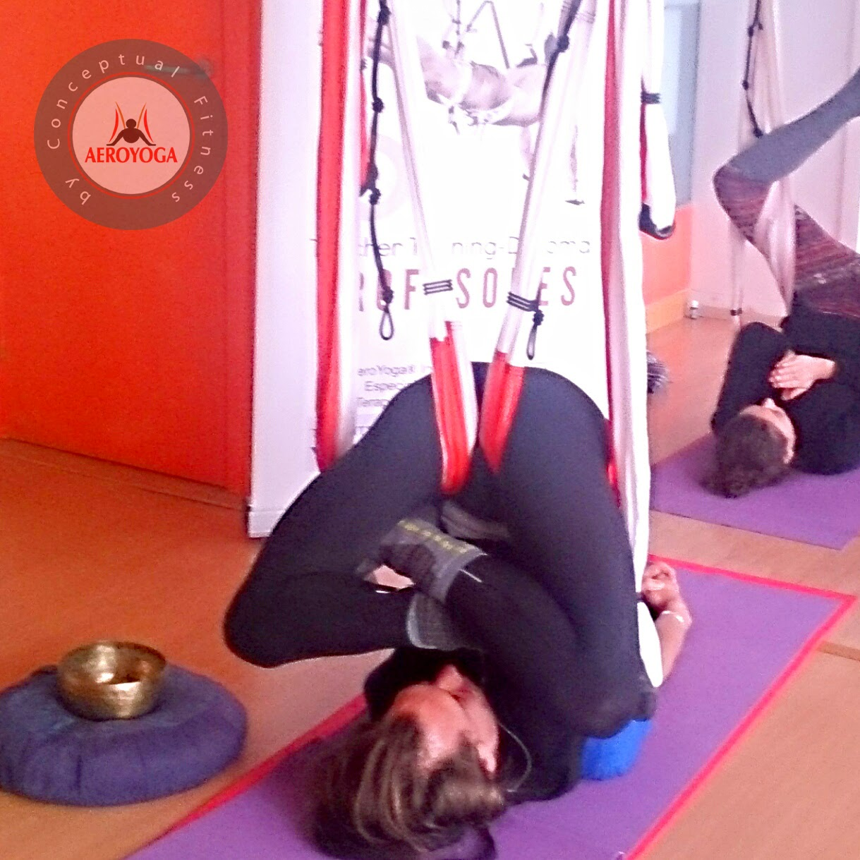 Yoga Dans L'Air dans un Hamac, Yoga Volant