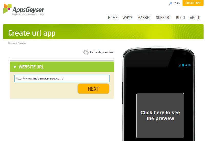 membuat aplikasi Android untuk situs Blog/ Website 2