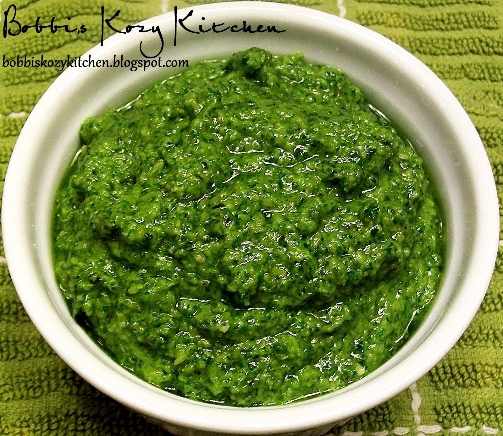 Classic Pesto | Bobbi's Kozy Kitchen