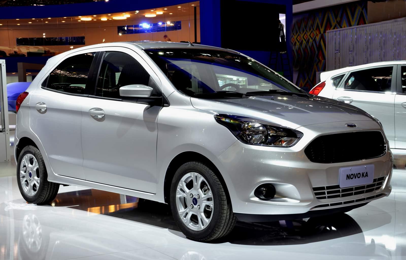 Novos ford ka e ka s o destaque da marca no sal o de sp