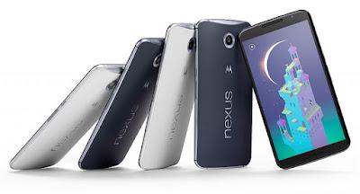 smartphones com as melhores baterias: nexus-6