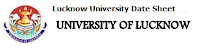 Lucknow University Date Sheet