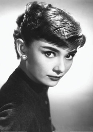 Pixie Cut Audrey Hepburn Suave sabrina paris haircut