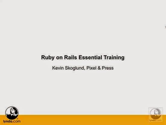 Lynda – Ruby on Rails Essential Training (2007)