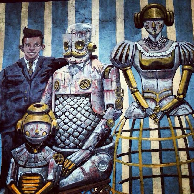 New Street Art Piece In Jersey City By Italian Street Artist Pixel Pancho.2