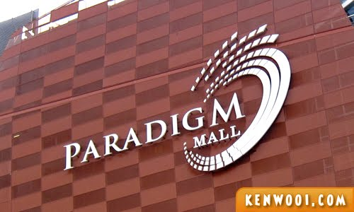 paradigm mall logo
