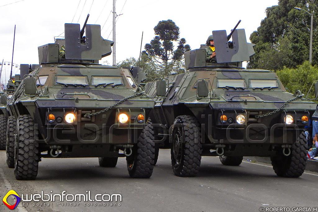 M1117 Commando Ejercito Colombia Textron
