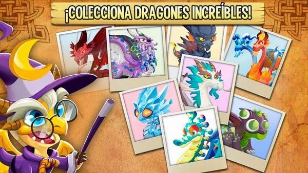 imagen de los retos temporales de dragon city mobile