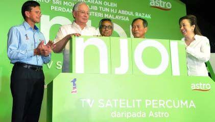 Pelancaran Satelit TV Percuma Astro NJOI