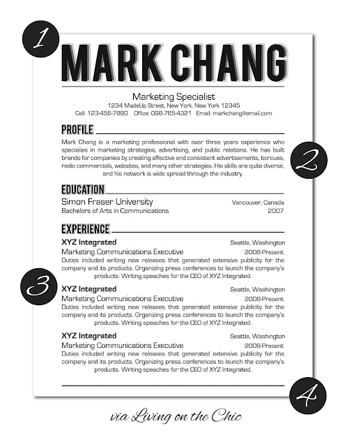 Best Should Resume Pages Be Numbered Photos - Simple resume Office .
