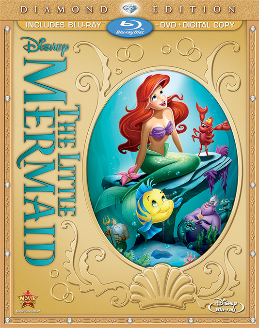Little Mermaid Diamond Edition cover animatedfilmreviews.blogspot.com