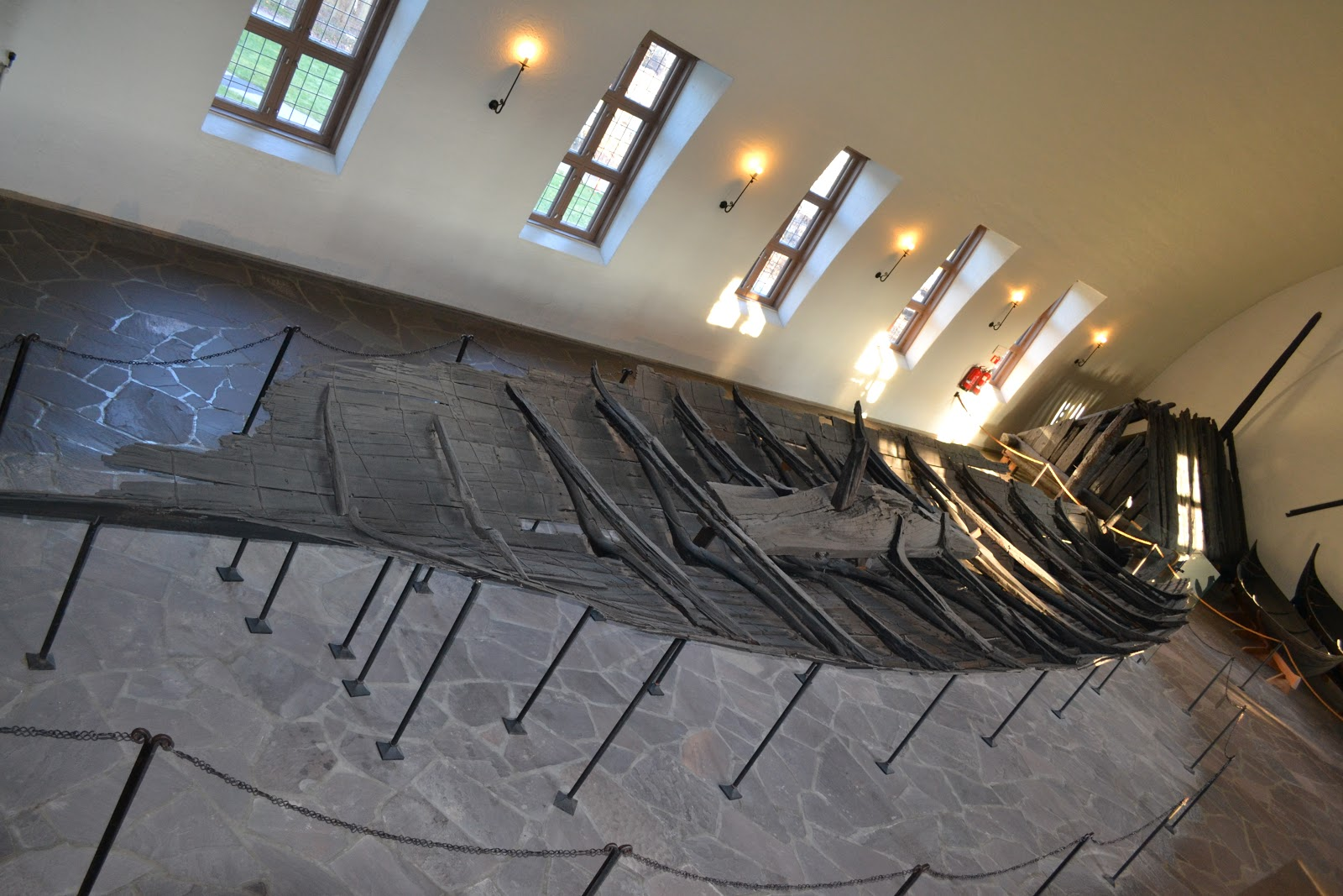 Viking boat fond in excavation