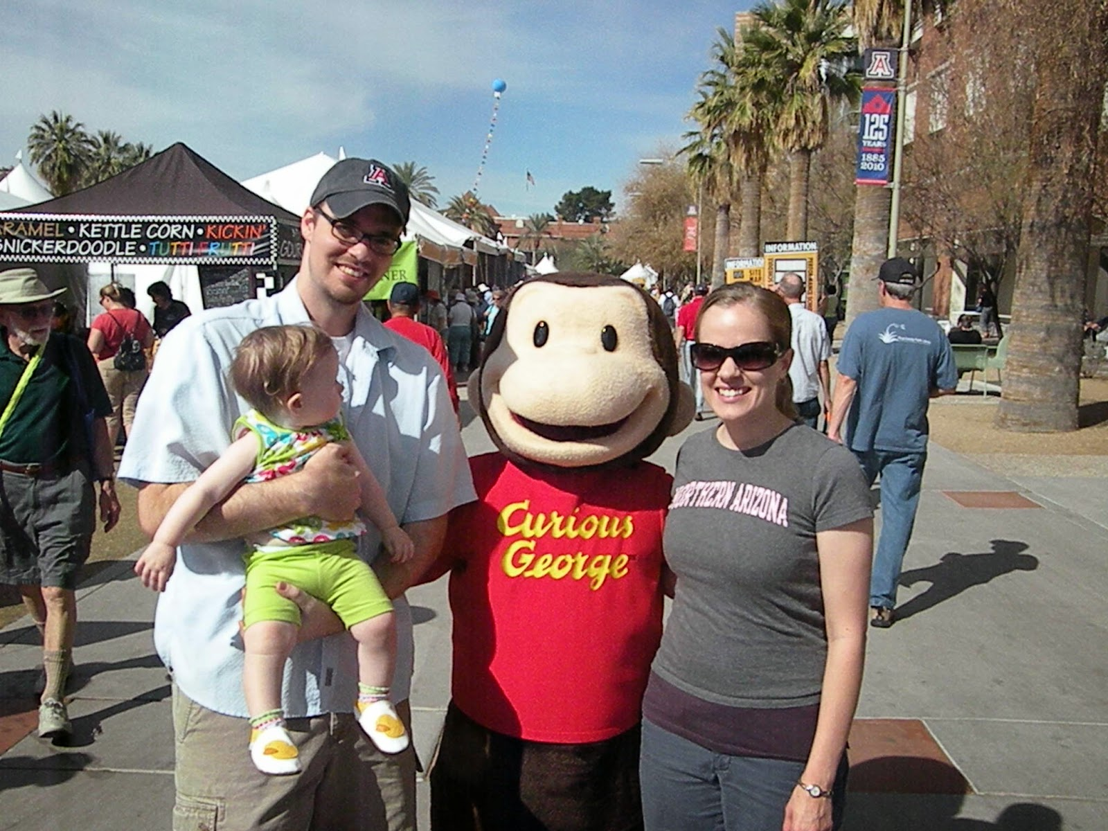 Tucson Festival of Books: Meeting Curious George