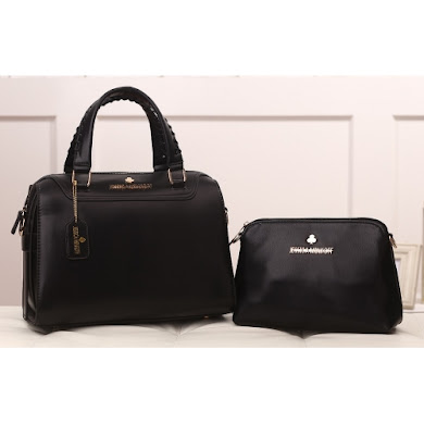 AAA WITH JESSICA MINKOFF LOGO (BLACK)