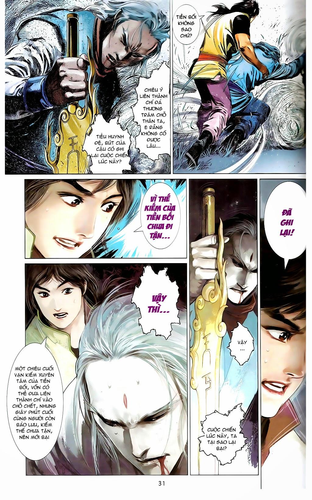 Phong Vân Chap 665 - Trang 30