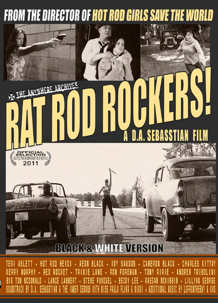 Rat Rod Rockers Black White Version Details