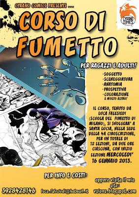 Corso fumetto Verona 2013