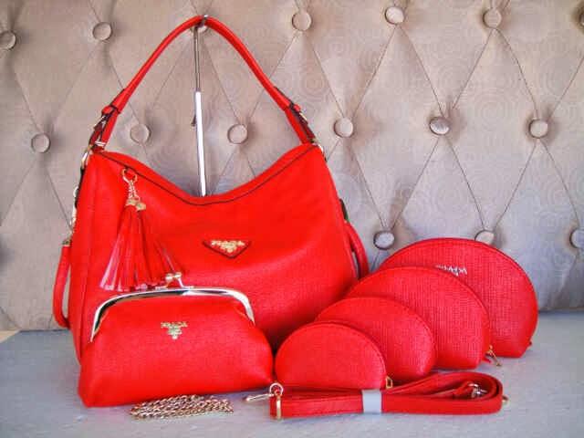 Tas Prada 6008 (Red)