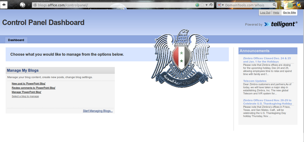Syrian Electronic Army kept their promise - Microsoft Office blog hacked