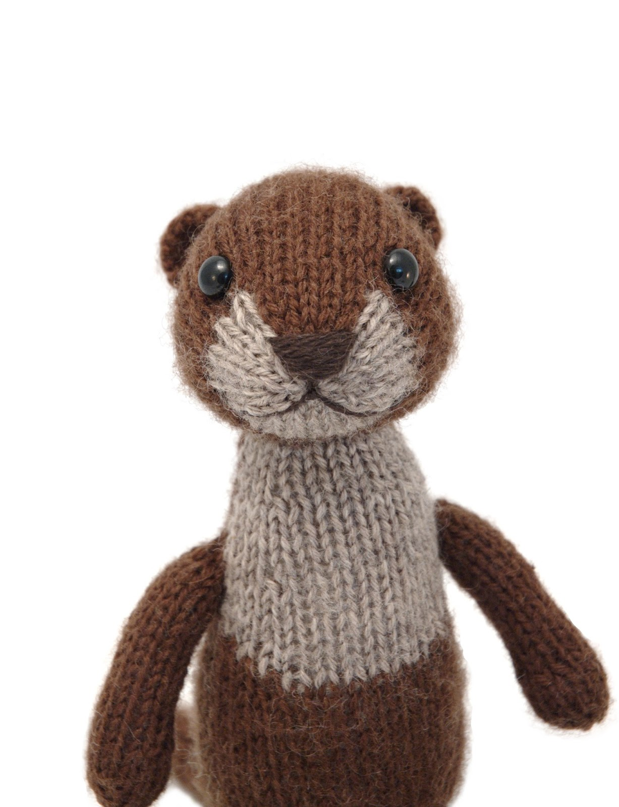 Fuzzy Thoughts: woodland toys in knit now magazine