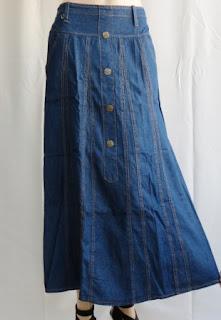 Rok Jeans Panjang RM334