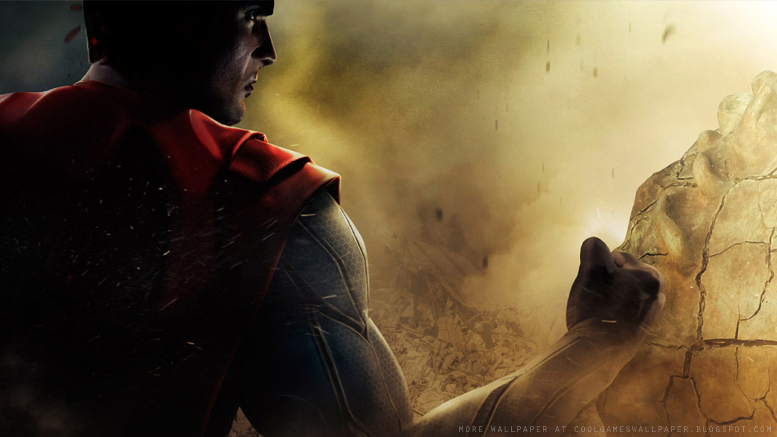 Injustice gods among us heroes wallpaper cool games wallpaper injustice gods among us superman wallpaper voltagebd Image collections