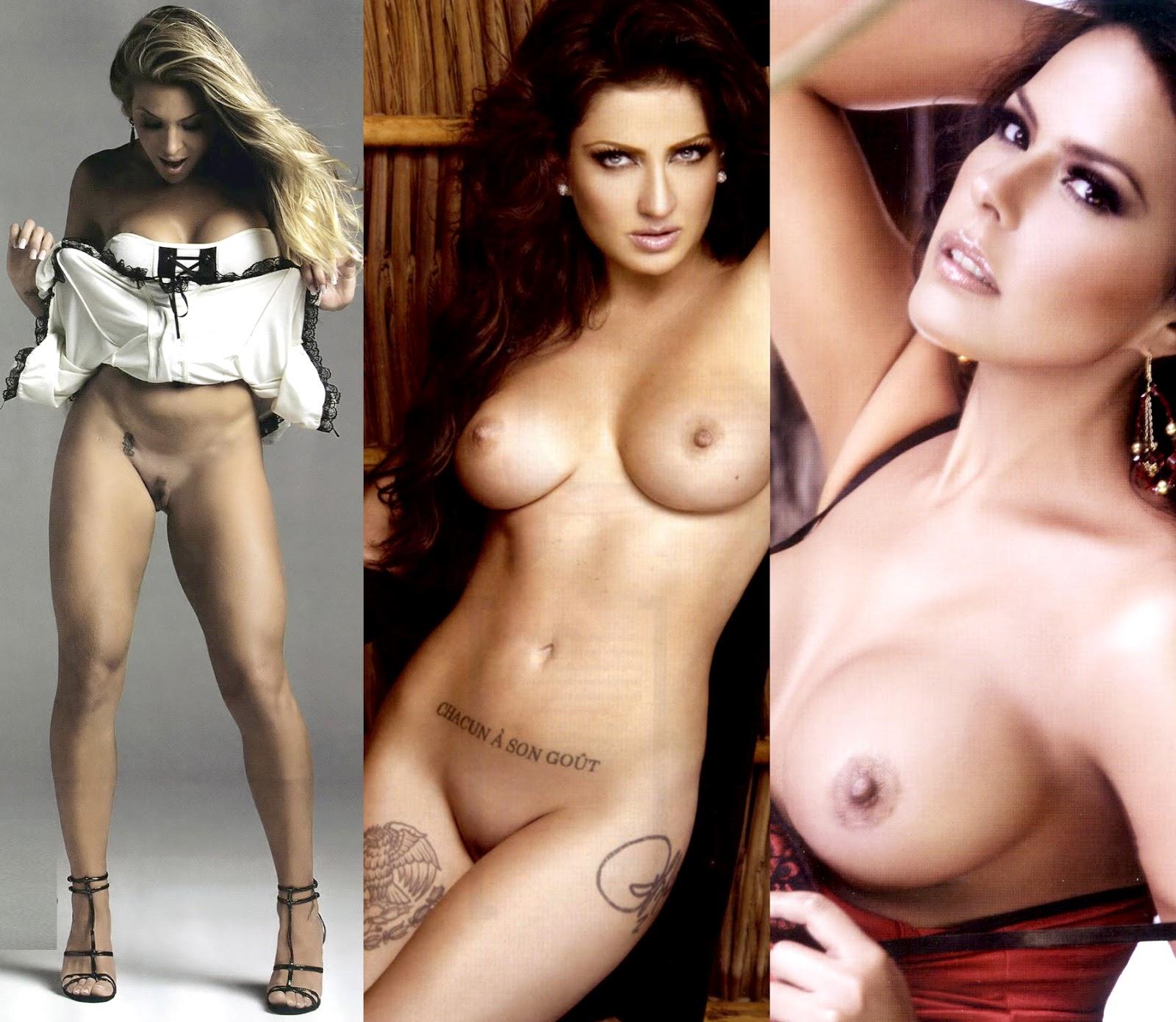 mujeres famosas desnudos: