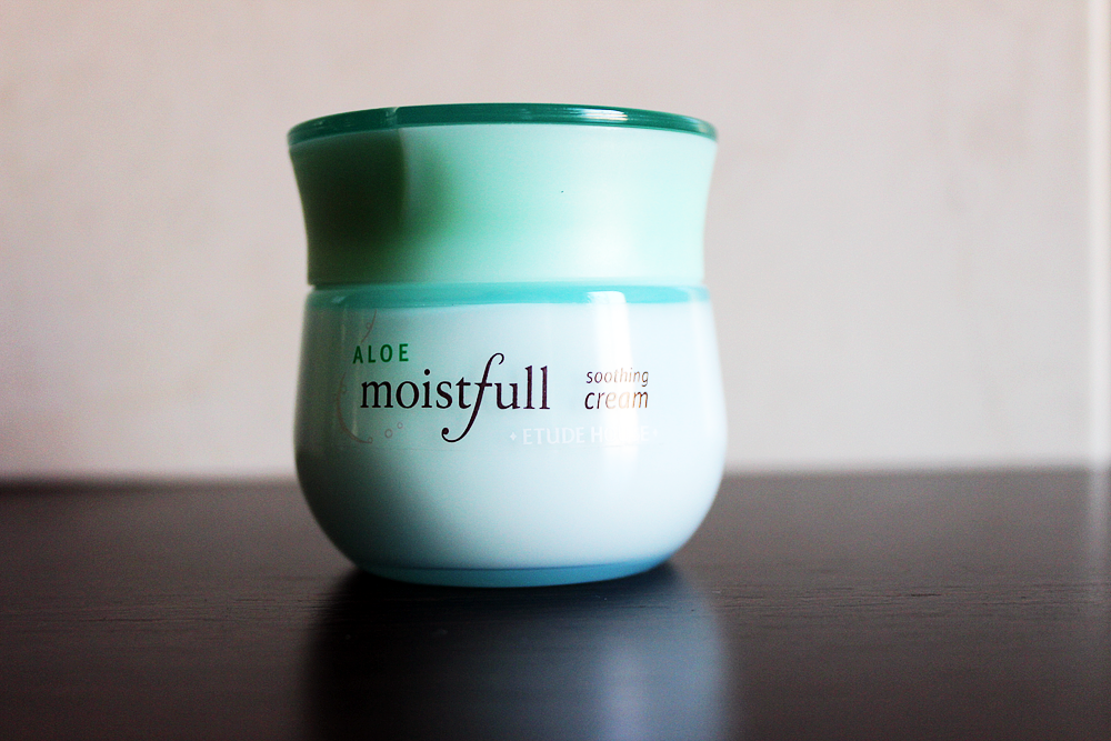Etude House Moistfull Aloe Soothing Cream review