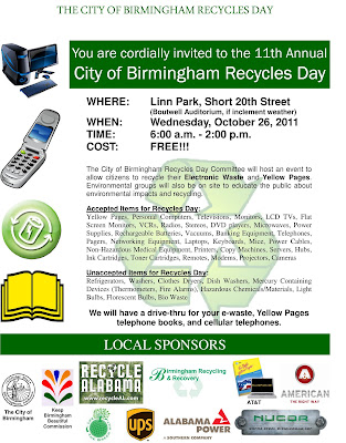 Recycles Day flyer