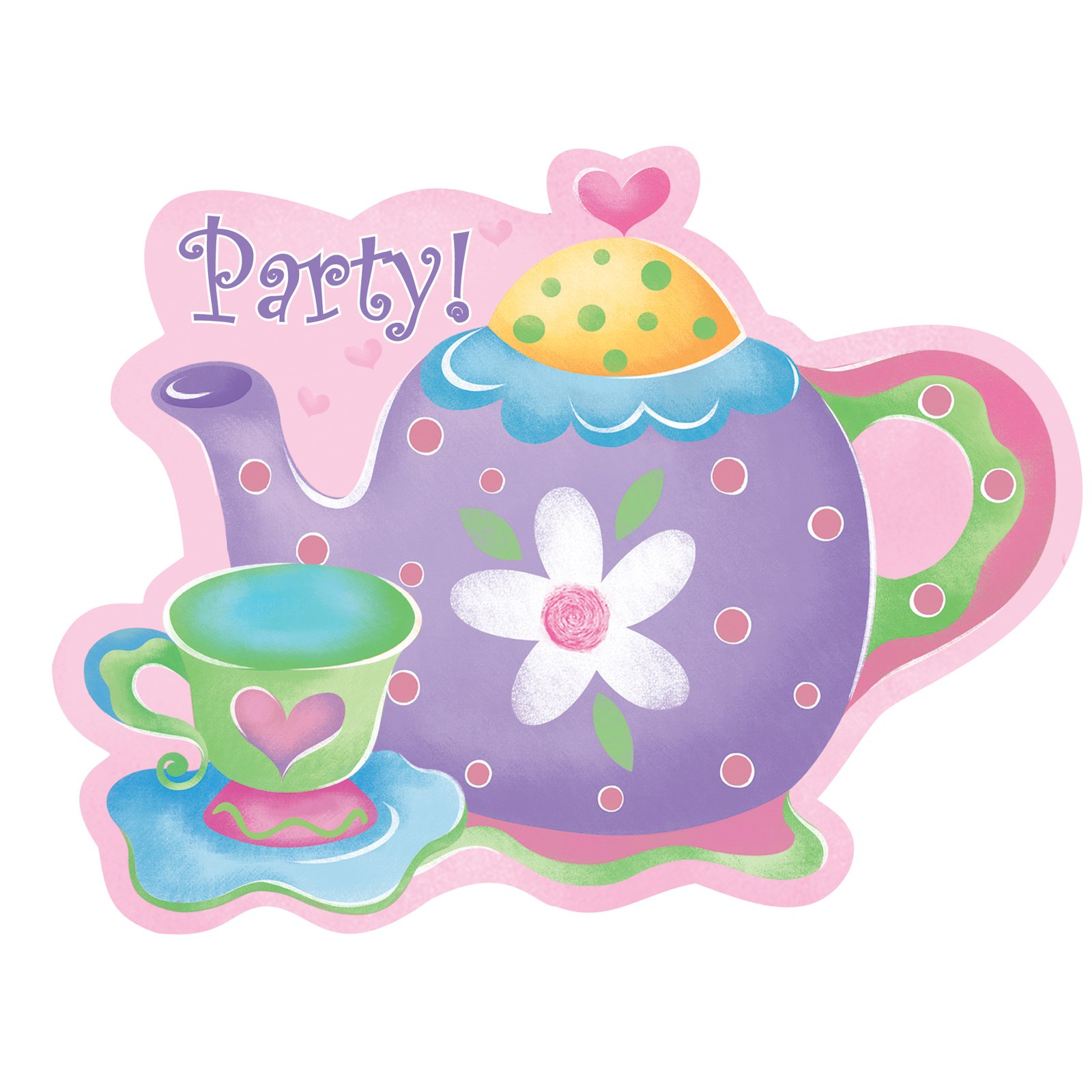 It's just an image of Ambitious Tea Party Clip Art