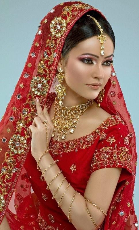 indian bridal wear dresses  She Fashions